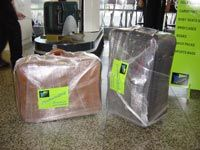 Wrapped luggages_3
